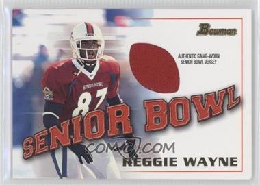 2001 Bowman - Rookie Jerseys #BJ-RW - Reggie Wayne