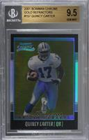 Quincy Carter /99 [BGS 9.5 GEM MINT]