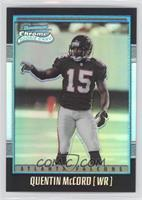 Rookie Refractor - Quentin McCord #/1,999