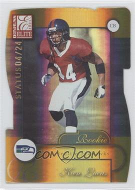 2001 Donruss Elite - [Base] - Status Die-Cut #191 - Ken Lucas /24