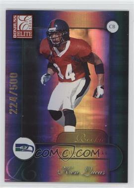 2001 Donruss Elite - [Base] #191 - Ken Lucas /500