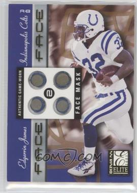 2001 Donruss Elite - Face 2 Face #FF-6 - Edgerrin James /100