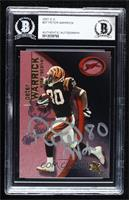 Peter Warrick [BAS Certified BAS Encased] #/299