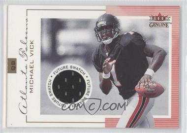 2001 Fleer Genuine - [Base] #126 - Michael Vick