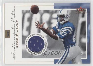 2001 Fleer Genuine - [Base] #133 - Reggie Wayne /1000
