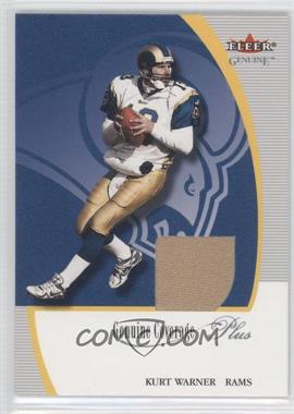 2001 Fleer Genuine - Genuine Coverage Jerseys #KUWA - Kurt Warner