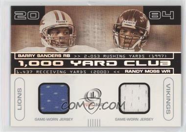 hot sale online 5f7e7 457ed 2001 Fleer Legacy - 1,000 Yard Club Dual Jerseys #BS-RM ...