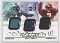 Josh Heupel, Quincy Carter, Michael Vick