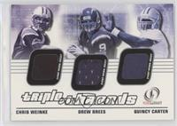 Chris Weinke, Drew Brees, Quincy Carter