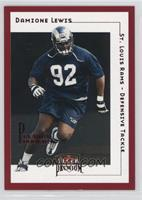 Damione Lewis #/125