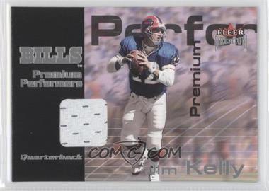 2001 Fleer Premium - Premium Performers Jerseys #JIKE - Jim Kelly /900