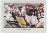 The Bus Fights Traffic (Jerome Bettis)