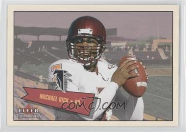 2001 Fleer Tradition Glossy - [???] #401 - Michael Vick /699