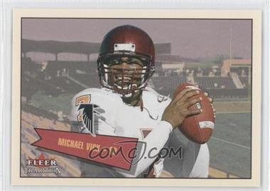 2001 Fleer Tradition Glossy - Rookie Stickers #401 - Michael Vick /699