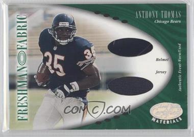 2001 Leaf Certified Materials - [Base] #123 - Anthony Thomas /400