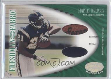 2001 Leaf Certified Materials - [Base] #128 - LaDainian Tomlinson /400
