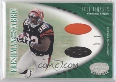 2001 Leaf Certified Materials - [Base] #131 - Rudi Johnson /400