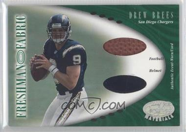 2001 Leaf Certified Materials - [Base] #134 - Drew Brees /400