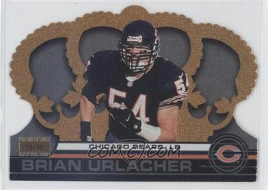 2001 Pacific Crown Royale - [Base] - Premiere Date #33 - Brian Urlacher /99