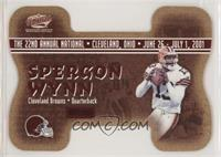 Spergon Wynn, Drew Brees #/1,000