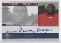 Quincy Morgan #/500
