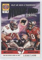 Mike Alstott, Warrick Dunn #/1,499