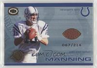 Peyton Manning #/214