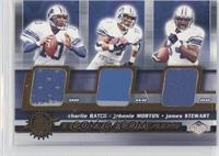Charlie Batch, Johnnie Morton, James Stewart