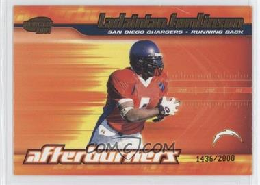 2001 Pacific Invincible - Afterburners #19 - LaDainian Tomlinson /2000