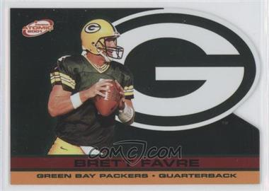 2001 Pacific Prism Atomic - [Base] - Red Non-Numbered #53 - Brett Favre