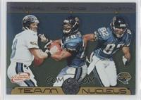 Mark Brunell, Fred Taylor, Jimmy Smith