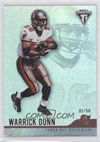 Warrick Dunn #/58