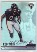 Rod Smith #/58
