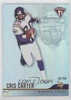 Cris Carter #/58