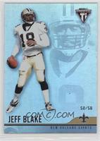 Jeff Blake #/58