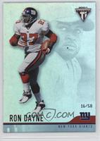 Ron Dayne #/58