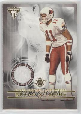 2001 Pacific Private Stock Titanium - Dual Game-Worn Jerseys - Patches #36 - Bryan Gilmore, Jermaine Lewis