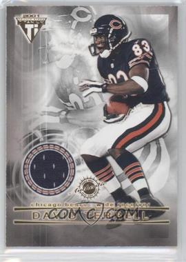 2001 Pacific Private Stock Titanium - Dual Game-Worn Jerseys #11 - David Terrell, Anthony Thomas