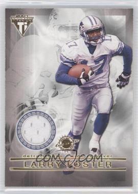 2001 Pacific Private Stock Titanium - Dual Game-Worn Jerseys #83 - Larry Foster, Allen Rossum
