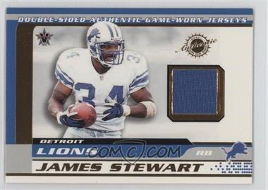 2001 Pacific Vanguard - Double-Sided Jerseys #30 - James Stewart, Larry Foster