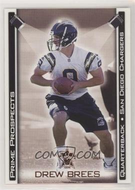 2001 Pacific Vanguard - Prime Prospects - Bronze #28 - Drew Brees