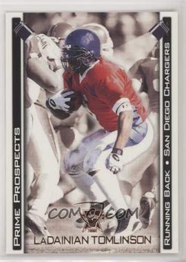 2001 Pacific Vanguard - Prime Prospects - Bronze #29 - LaDainian Tomlinson