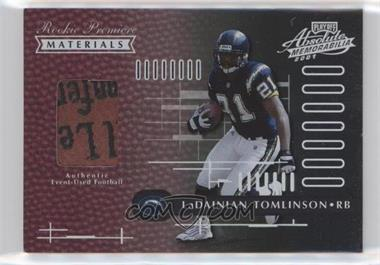 2001 Playoff Absolute Memorabilia - [Base] #158 - LaDainian Tomlinson /850