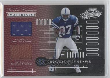 2001 Playoff Absolute Memorabilia - [Base] #170 - Reggie Wayne /850