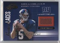 Kerry Collins #/825