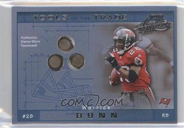 2001 Playoff Absolute Memorabilia - Tools of the Trade #TT-36 - Warrick Dunn /125