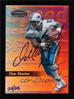 Dan Marino (1999 Contenders) #/5