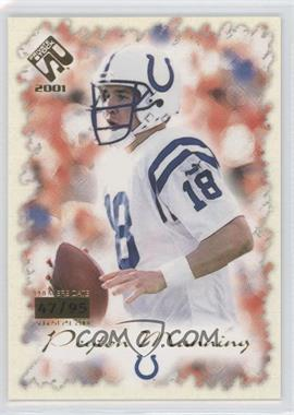 2001 Private Stock - [Base] - Premiere Date #41 - Peyton Manning /95