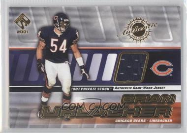 2001 Private Stock - Game-Worn Gear #29 - Brian Urlacher