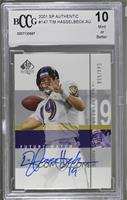 Tim Hasselbeck /550 [BCCGMint]